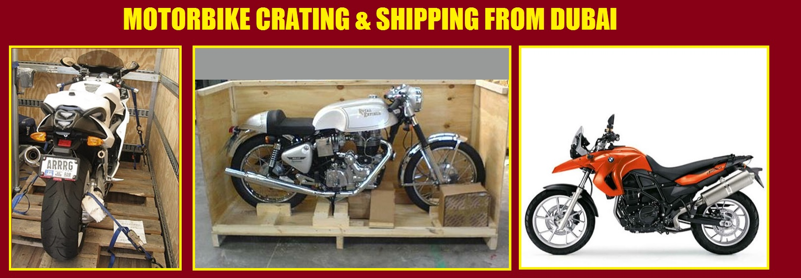 Motorcycle Shipping Quote Bike Shipping From Dubai Southeast International Movers